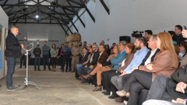 Se inauguró la planta de recuperación de residuos electrónicos