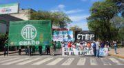 ATE se moviliza en Resistencia para reclamar pase a planta