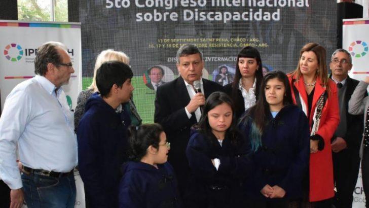 """""""Chaco lidera las políticas públicas en discapacidad"""""""