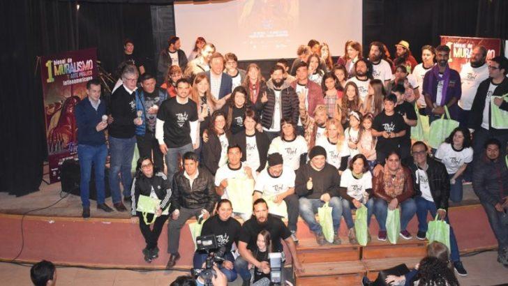 Comenzó la Bienal de Muralismo y Arte Público Latinoamericano en Tirol