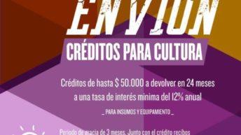Créditos de hasta 50 mil pesos para emprendimientos culturales