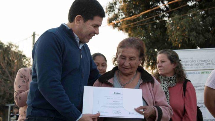 Desarrollo Urbano: 42 familias de El Fachinal recibieron su RUBH