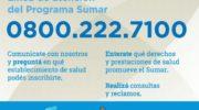 El programa Sumar responde consultas a través de su línea telefónica gratuita
