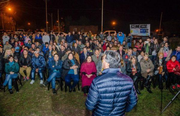En Pampa Almirón y La Eduvigis, Capitanich destacó el legado de Perón 1