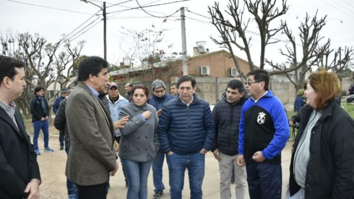 """Gustavo Martínez en Sáenz Peña: """"Hay que dejar de lado esa vetusta política de la soberbia"""""""