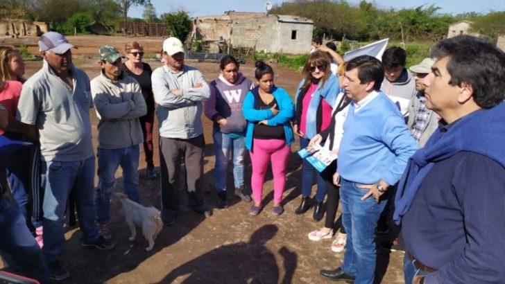 Gustavo Martínez y Ricardo Sánchez visitaron Machagai