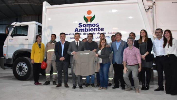 Lapachito celebró sus 107 años con la inauguración de la planta de separación de residuos sólidos urbanos