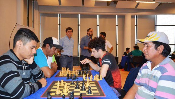 Martínez acompañó la semifinal del Campeonato Argentino de Ajedrez