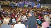 Multitudinario encuentro de mujeres: Capitanich ratificó la lucha del colectivo feminista