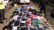 Paralelo 28: en operativo vial, la Caminera secuestró mercadería de contrabando