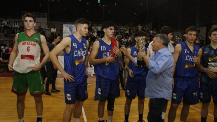 Peppo destacó el éxito de convocatoria durante el campeonato de básquet U19