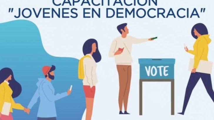 Realizarán capacitaciones sobre voto joven y sistema electoral
