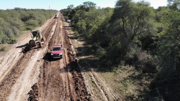 Vialidad Provincial trabaja en los caminos rurales