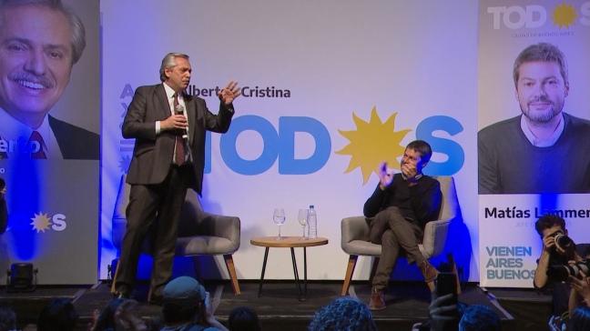 """Alberto Fernández condenó al Gobierno y al FMI por generar """"esta catástrofe social»"""