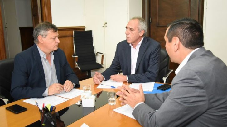 Ante Nación, Peppo busca asegurar el flujo de fondos para la provincia