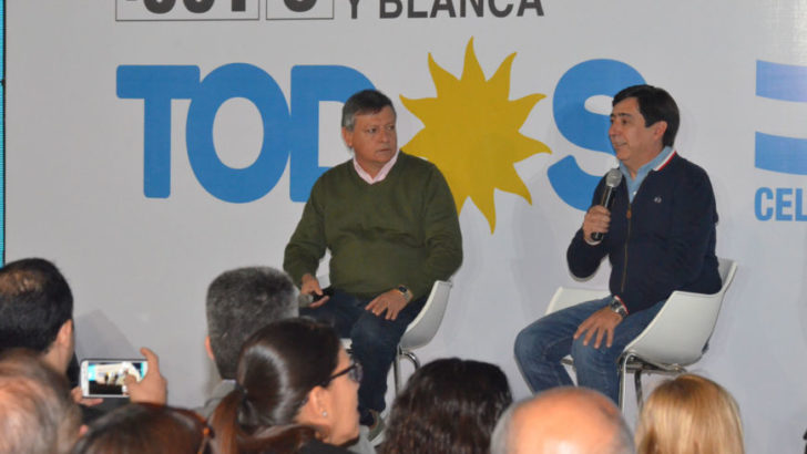 """Gustavo Martínez: """"es importante establecer vínculos con cada sector de la matriz social, económica y productiva"""""""