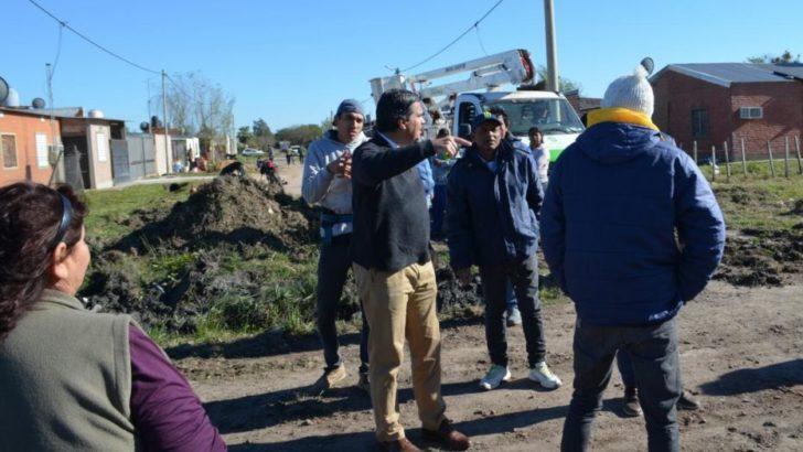 El intendente supervisó un operativo integral en el Carpincho Macho