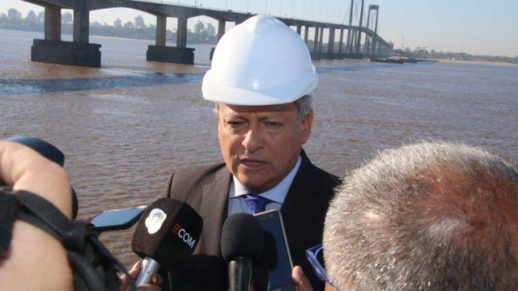 Peppo visitó la obra del segundo acueducto