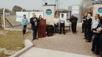 Sameep llevó agua potable para la comunidad de Laguna El Lobo de San Martín