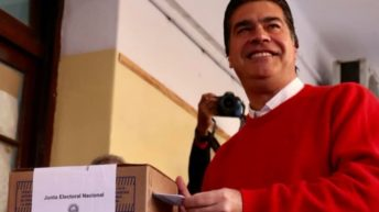 Capitanich destacó la jornada cívica y ratificó que estas elecciones definen el liderazgo político