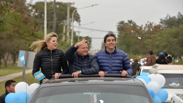 """Caravana de cierre de Peppo: """"con Alberto y Cristina nos encaminamos a construir la mejor patria"""""""