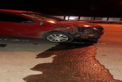 Colonia Elisa: un hombre perdió la vida en un choque entre un auto y una moto 1
