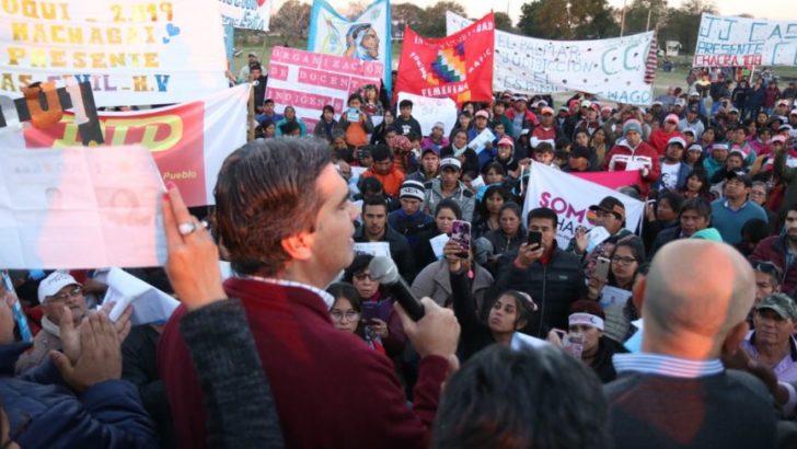 """Comunidades indígenas: """"Queremos a Coqui de vuelta en la provincia y a Cristina en la Nación"""""""