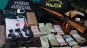 Drogas: desarticulan bunkers en Castelli