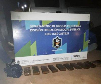 Drogas: desarticulan bunkers en Castelli 1