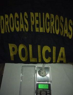 Drogas: desarticulan bunkers en Castelli 2