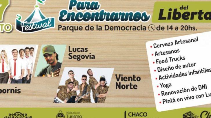 Festival para Encontrarnos: Agapornis, el sábado, en el Parque de la Democracia