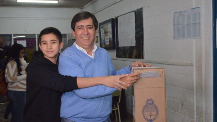 """Gustavo Martínez: """"fue una elección realmente ejemplar en toda la provincia"""""""