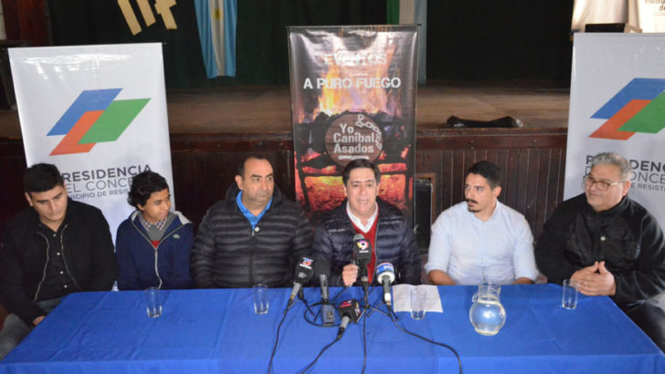 Gustavo Martínez presentó el Precosquin 2020 sede Resistencia y la 1ra. Expo Asado de la ciudad