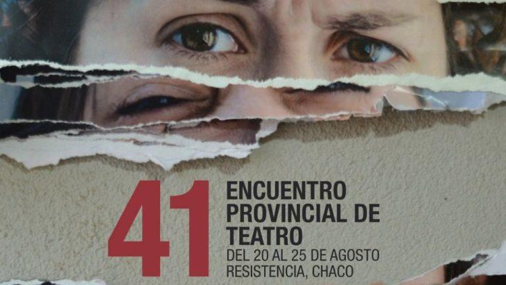 Más de 20 obras de todos los géneros participarán en el 41º Encuentro Provincial de Teatro