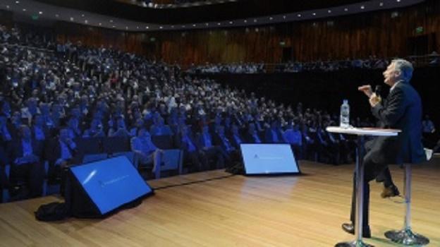 Más de mil funcionarios de Cambiemos, convocados por Macri en el CCK