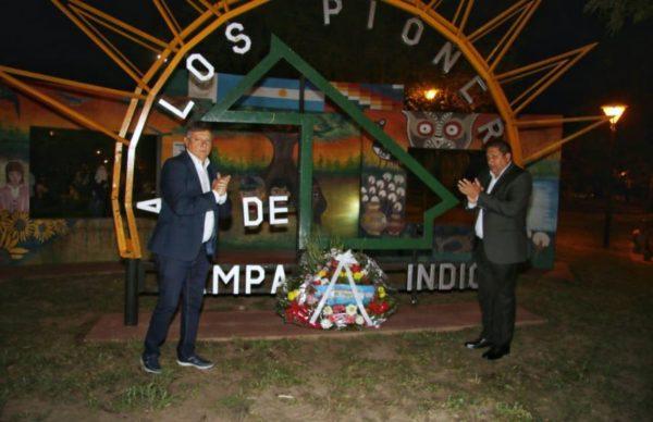 Pampa del Indio: Peppo inauguró importantes obras y entregó títulos en el 72º Aniversario de la ciudad 1