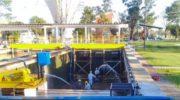 Sameep efectuó limpieza de decantadores en las plantas potablizadoras