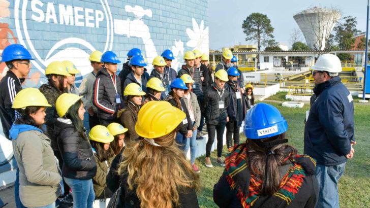 Sameep recibió a escuelas e institutos educativos en las plantas potabilizadoras