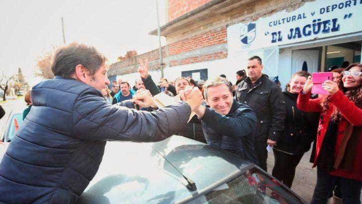 Votó Kicillof: «Esto se dirime democráticamente y en paz»