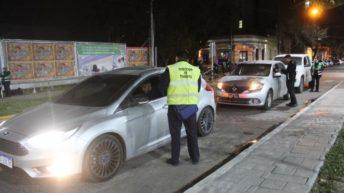 Controles de alcoholemia: 44 vehículos fueron derivados al depósito municipal