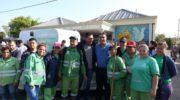 Capitanich encabezó el lanzamiento del programa de prevención del dengue
