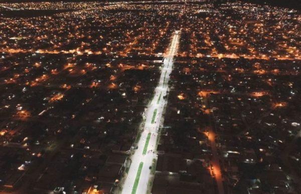 Capitanich inauguró pavimento en otras ocho cuadras de la avenida Edison 1
