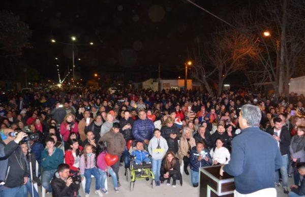 Capitanich inauguró pavimento en otras ocho cuadras de la avenida Edison 2