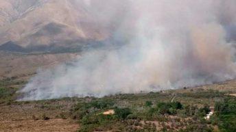 Incendios rurales en Córdoba: un nuevo foco se inició en el Valle de Traslasierra