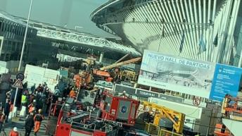 La tragedia «anunciada» de Ezeiza: un operario muerto y 13 heridos por un derrumbe en el aeropuerto