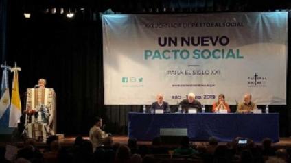 Pastoral Social: Poli propuso un pacto «que no sea funcional ni coyuntural»