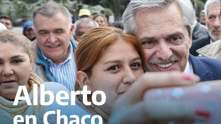 Alberto Fernández cierra en Resistencia la campaña del Frente de Todos en el interior