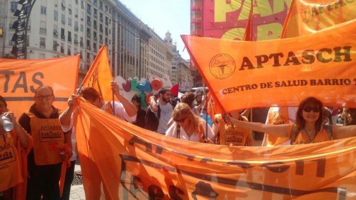 """Aptasch va al paro por 72 horas y afirma que """"el Gobierno provincial se muestra en retirada"""""""