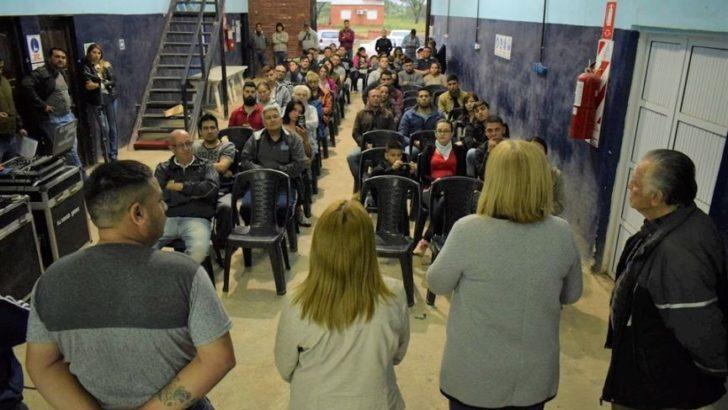 Barrio Quebracho: el Gobierno y los vecinos inician el proceso de regularización dominial