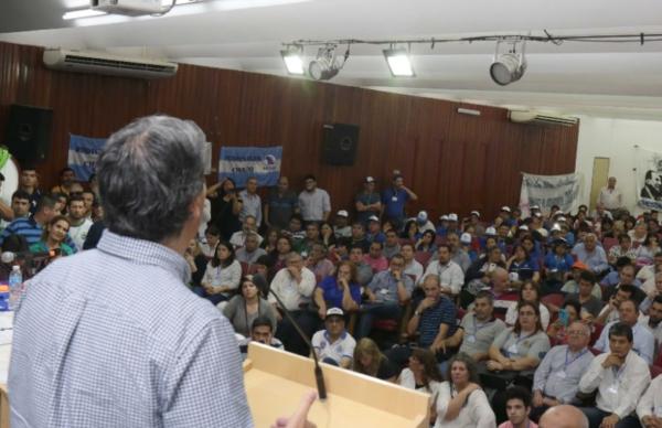 Capitanich destacó la importancia de la unidad del movimiento obrero 1